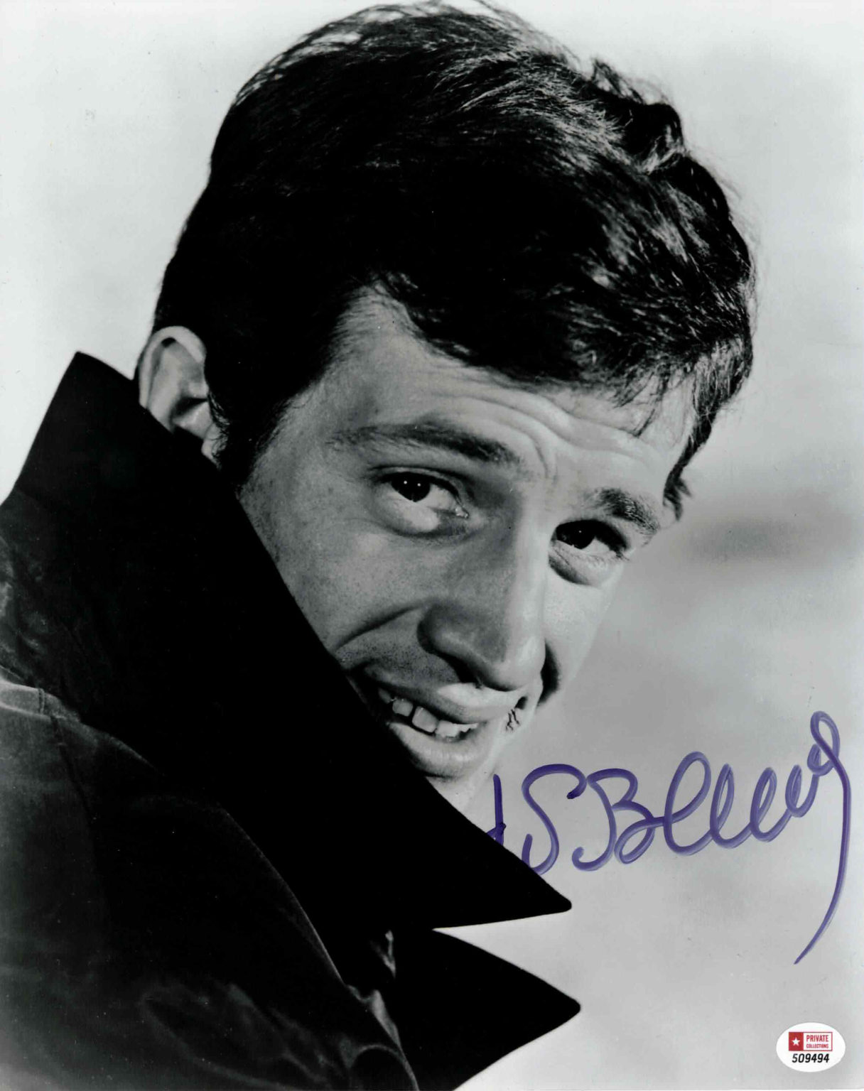 Jean Paul Belmondo - autogram