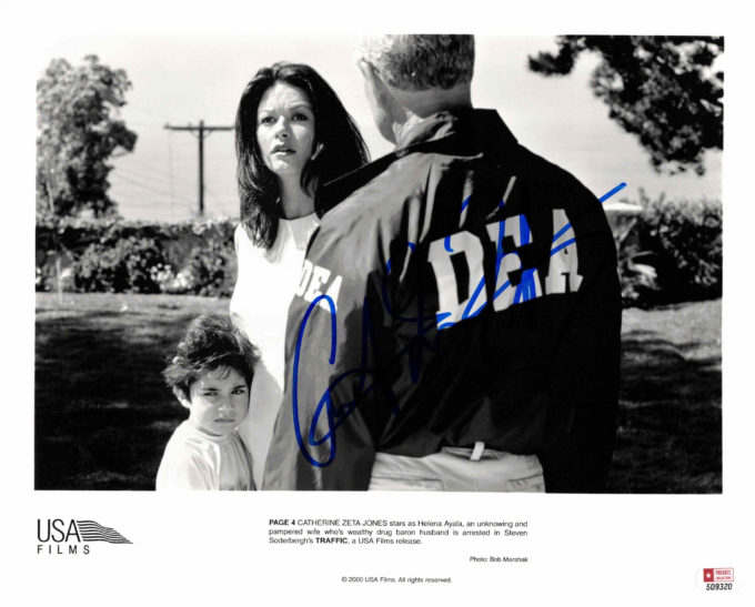 Catherine Zeta Jones - autogram