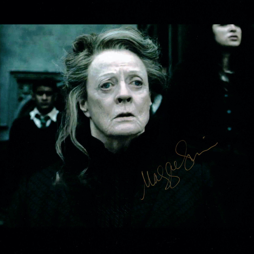 Maggie Smith / Harry Potter - autogram