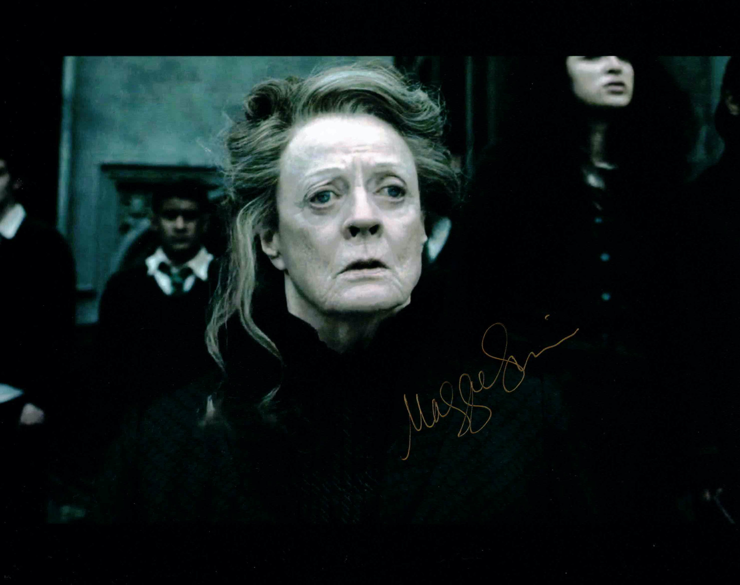 Maggie Smith / Harry Potter - autogram