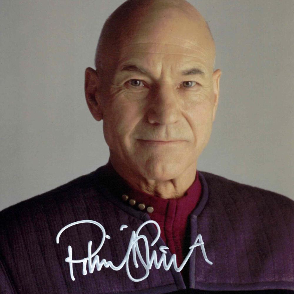 Patrick Stewart - autogram