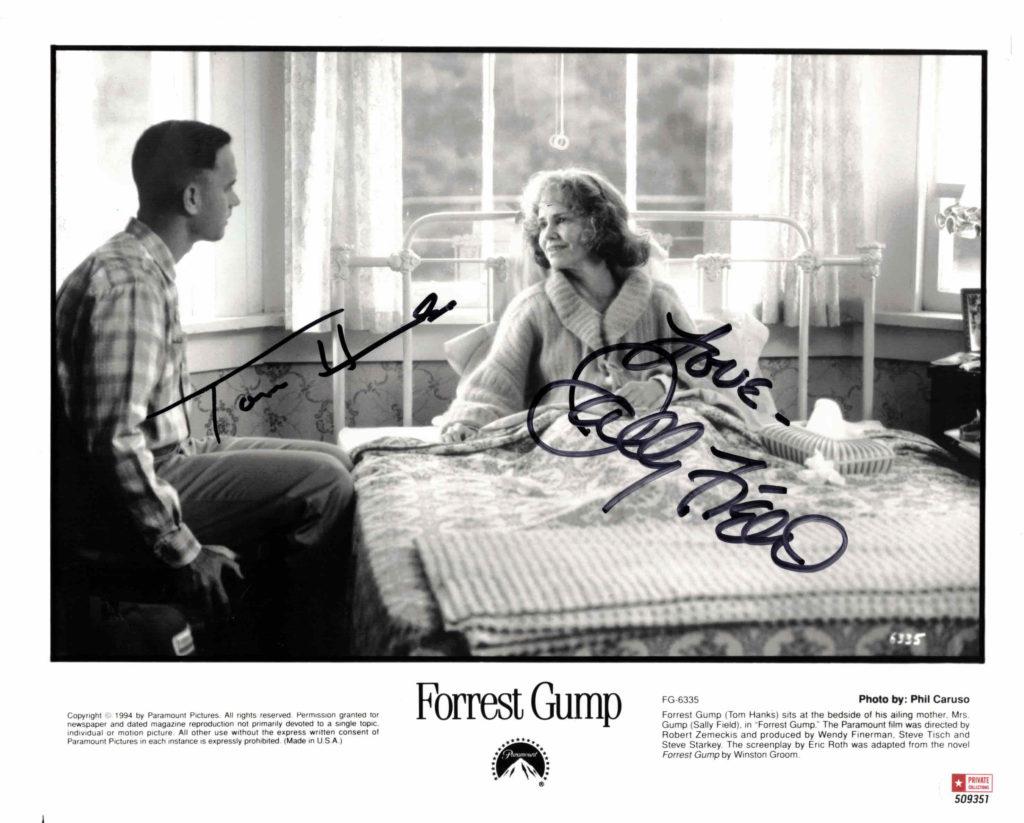 Tom Hanks & Sally Field / Forrest Gump - autogram