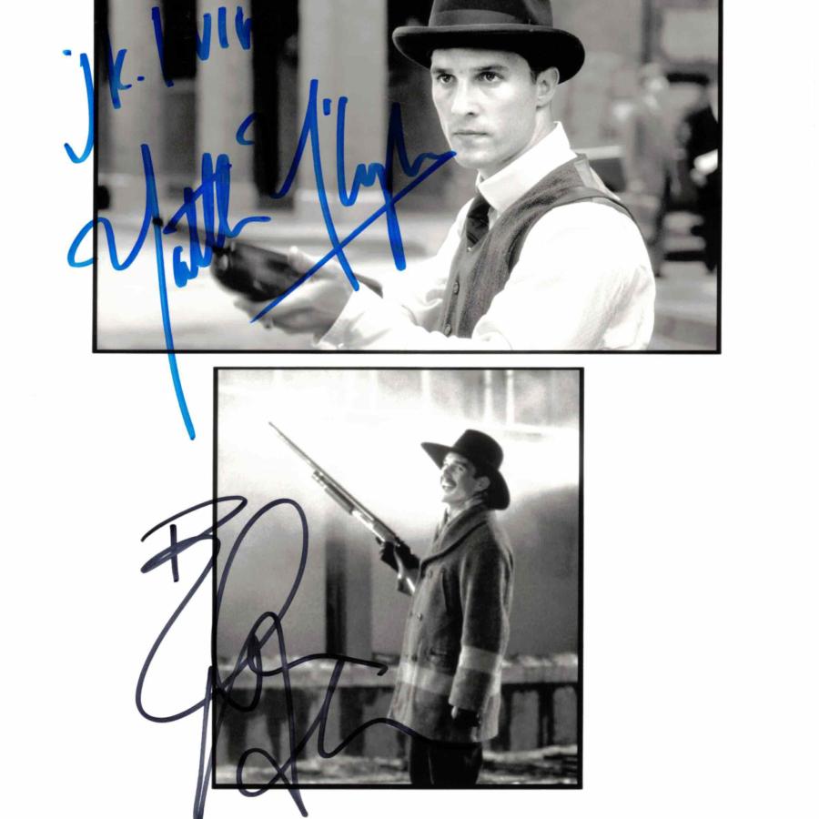 Matthew McConaughey & Ethan Hawke - autogram