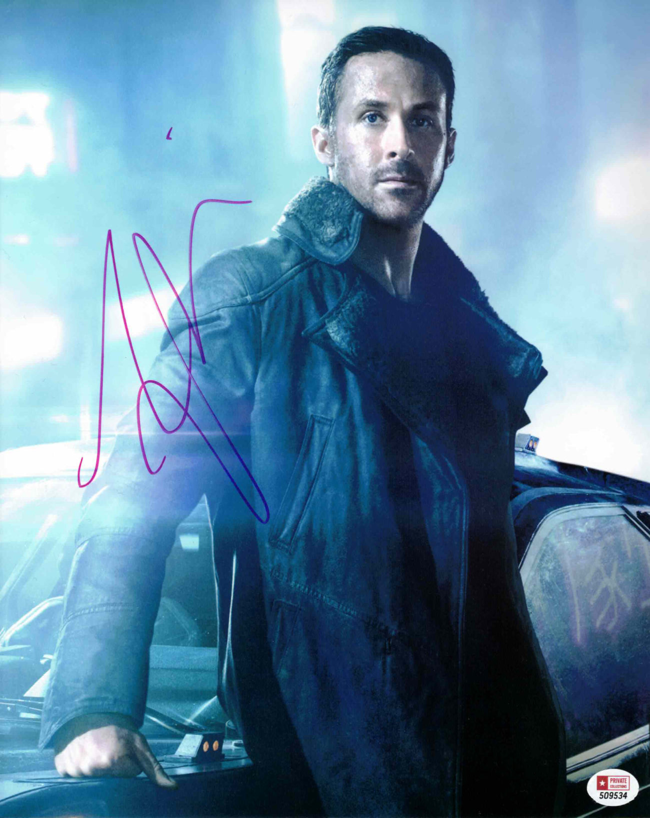 Ryan Gosling - autogram