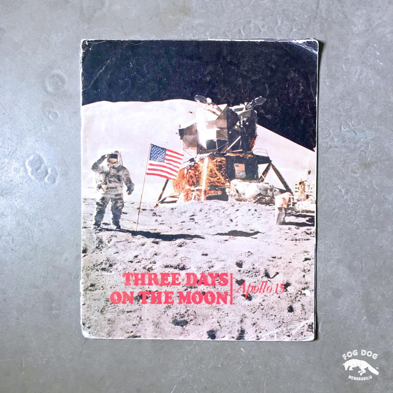 Brožura 3 DAYS ON THE MOON - mise Apollo 15 (1971)