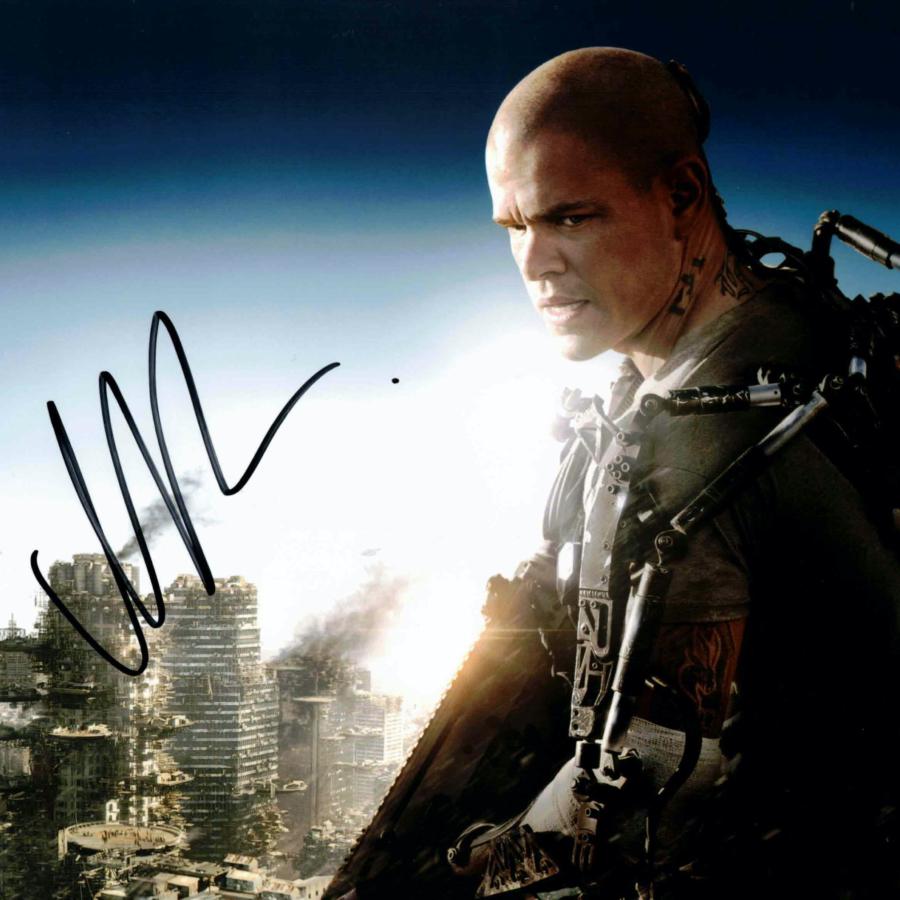 Matt Damon - autogram
