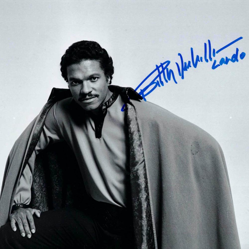 Billy Dee Williams / Lando Calrissian, Star Wars - autogram