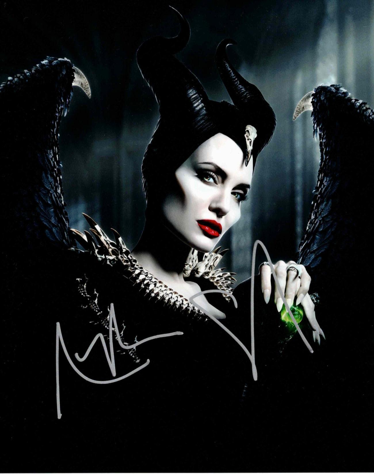 Angelina Jolie - autogram