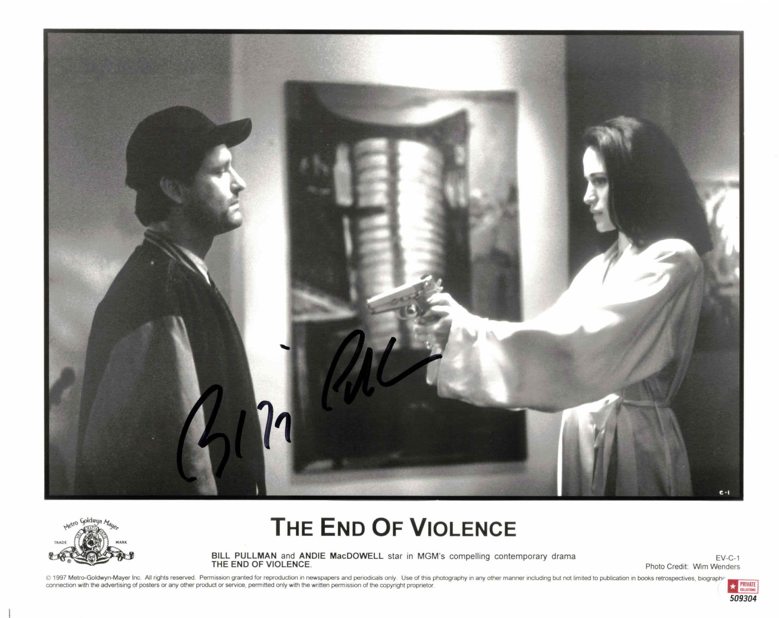 Bill Pullman - autogram