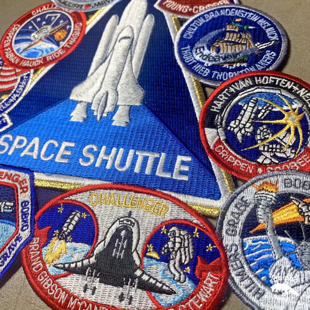 Stará NASA nášivka - velká 25cm