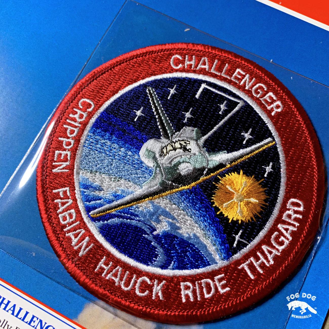 Oficiální textilní nášivka NASA - CHALLENGER STS-7