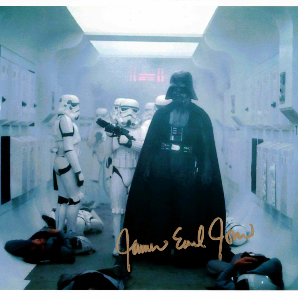 James Earl Jones / Darth Vader, Hvězdné války - autogram