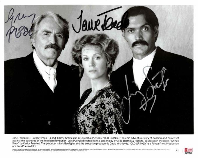 Gregory Peck, Jane Fonda & Jimmy Smits