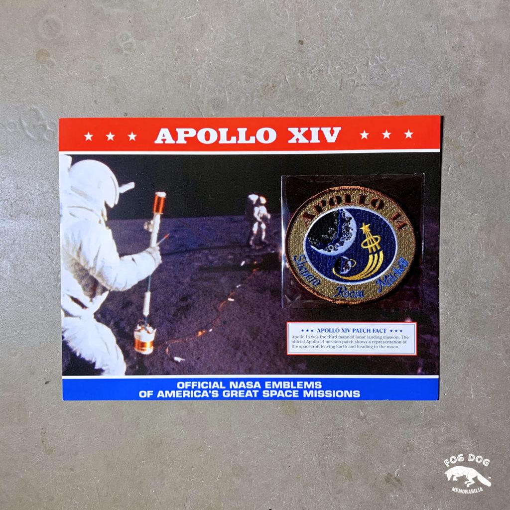 Oficiální textilní nášivka NASA - APOLLO XIV