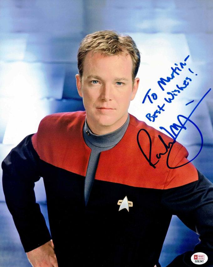 Robert Duncan McNeill / Star Trek - autogram
