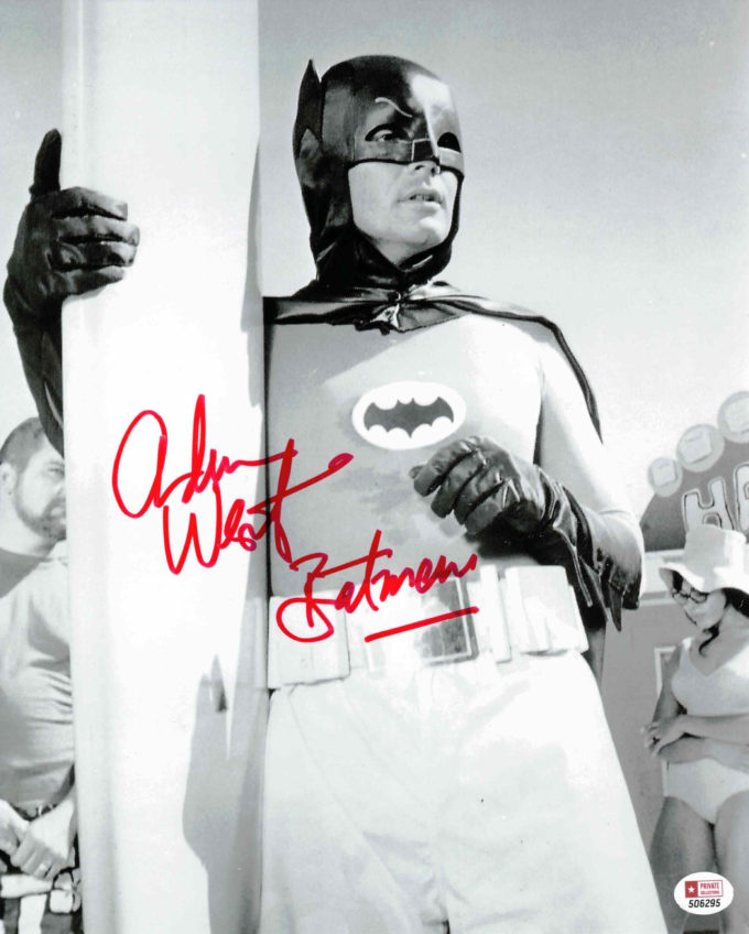 Adam West / Batman - autogram