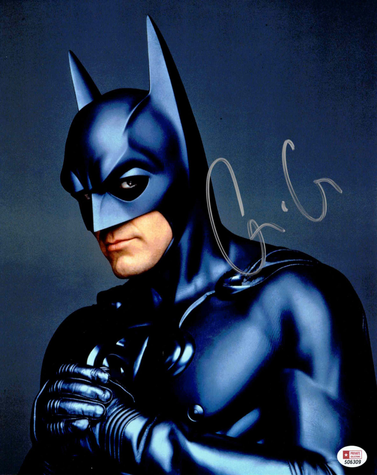 George Clooney / Batman - autogram