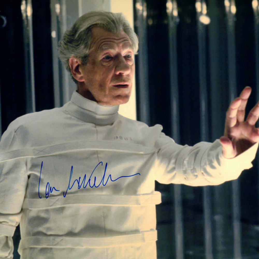 Ian McKellen - autogram