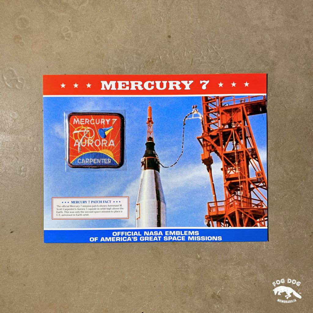 Oficiální textilní nášivka NASA - MERCURY 7