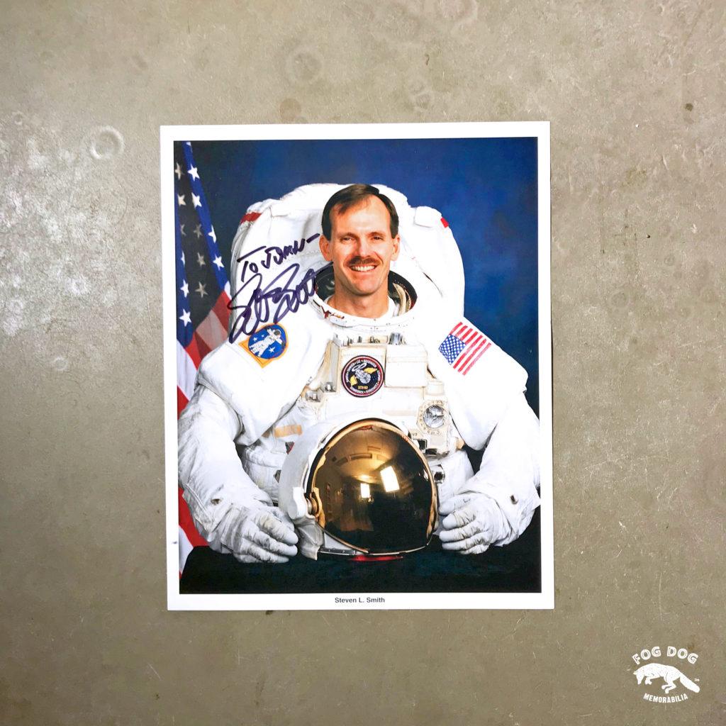 Autogram / astronaut Steven Smith