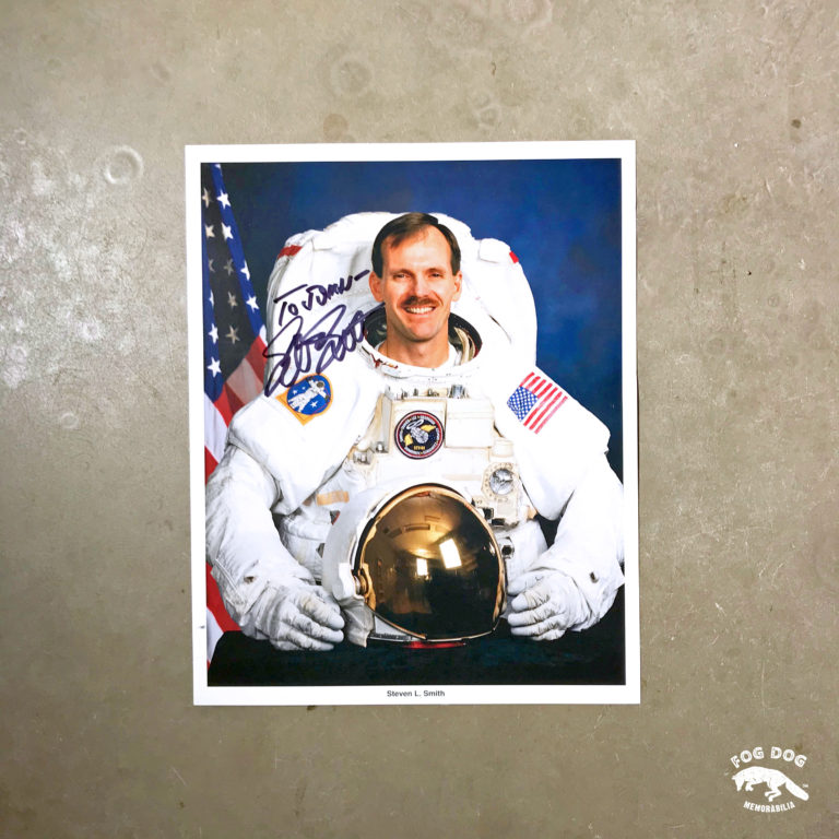 Autogram / astronaut Steven Smith