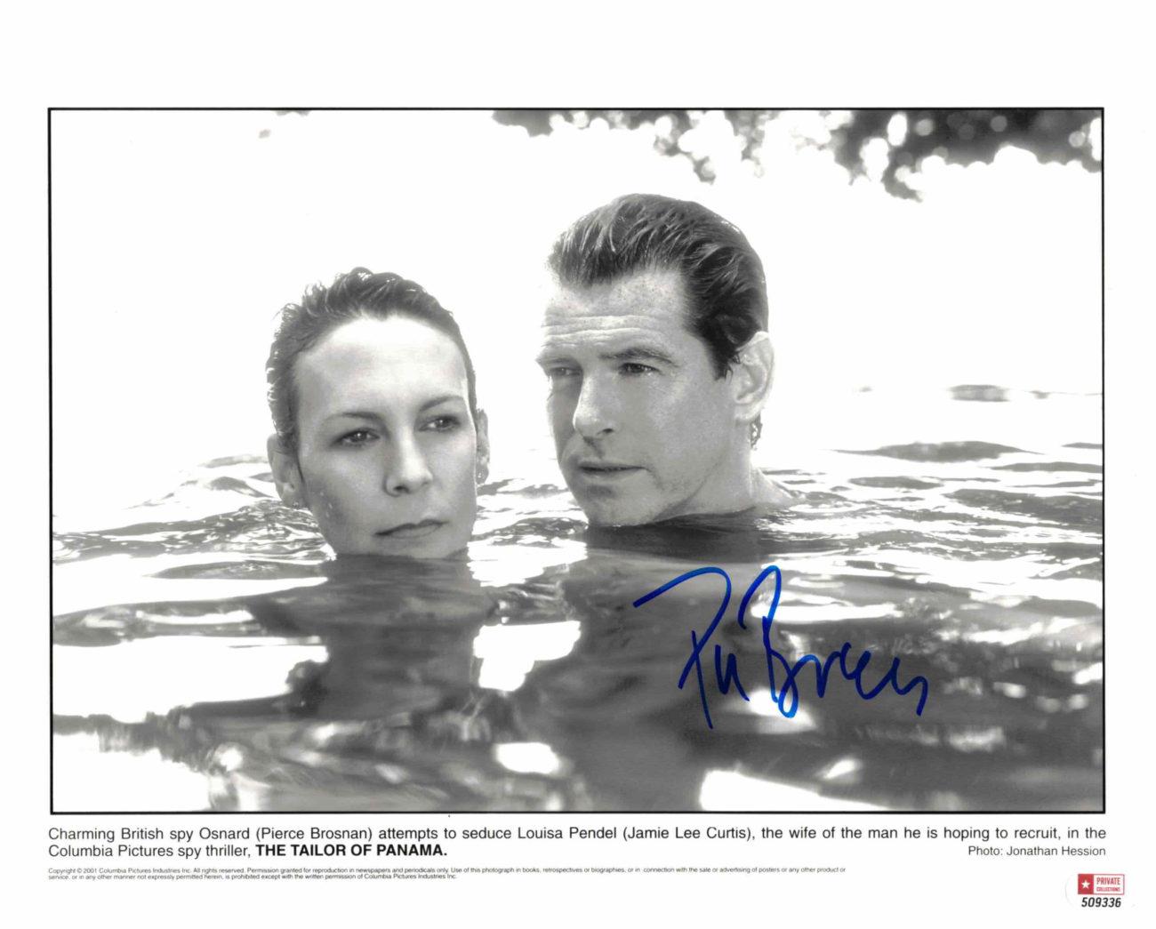 Pierce Brosnan - autogram