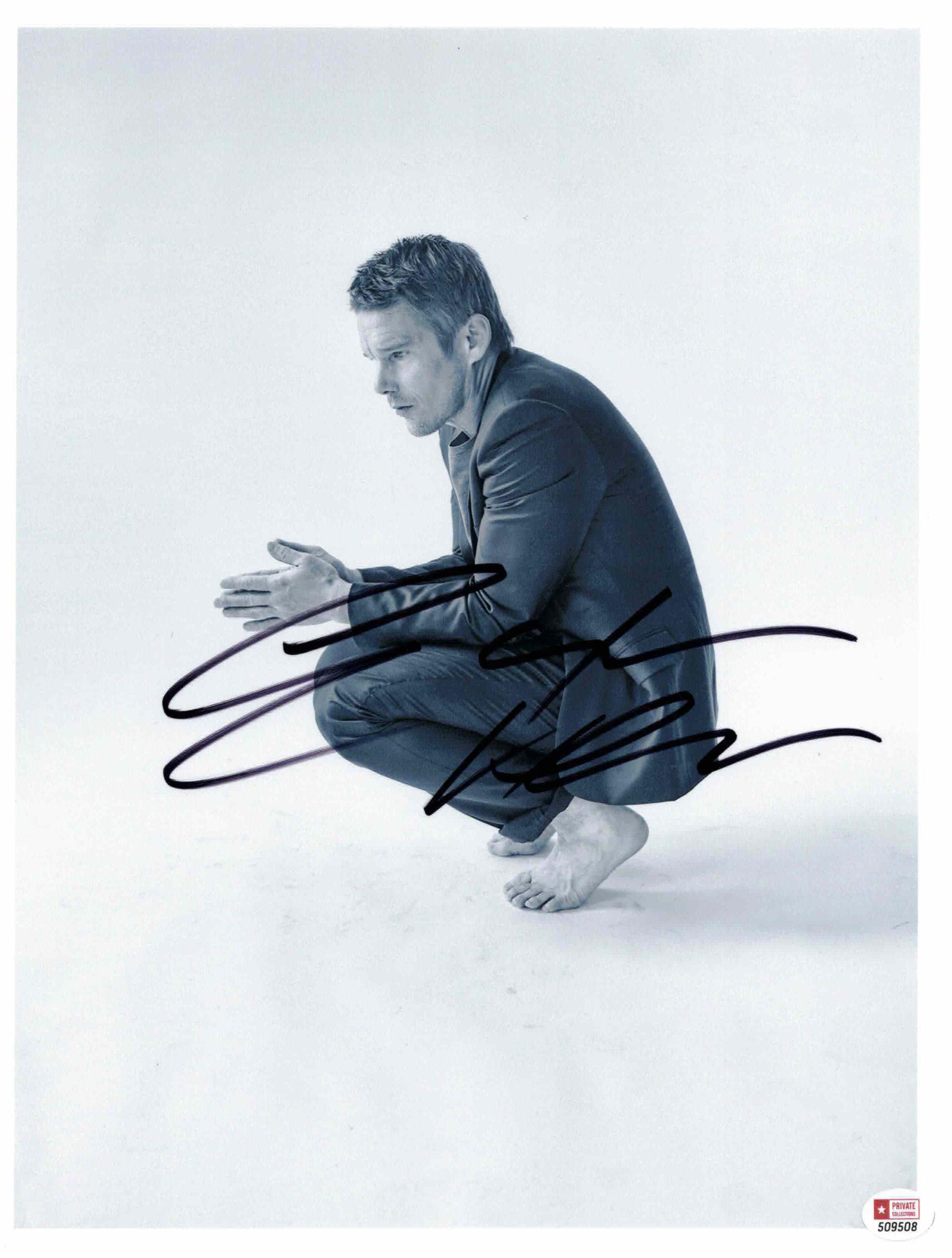 Ethan Hawke - autogram