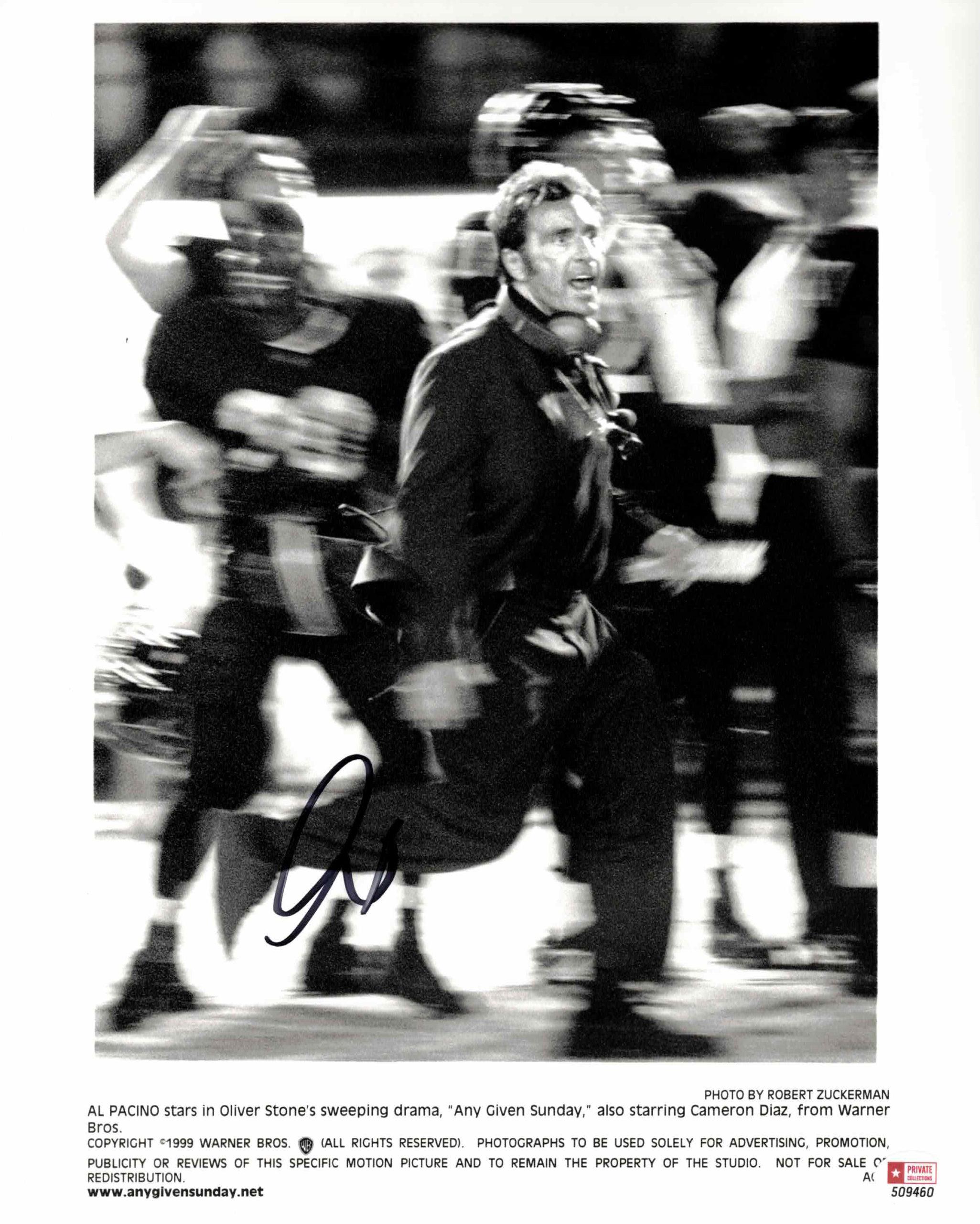Al Pacino - autogram