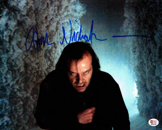 Jack Nicholson - autogram