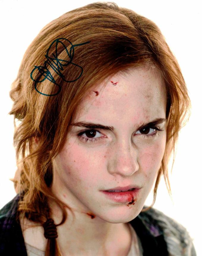 Emma Watson / Hermiona Granger, Harry Potter - autogram