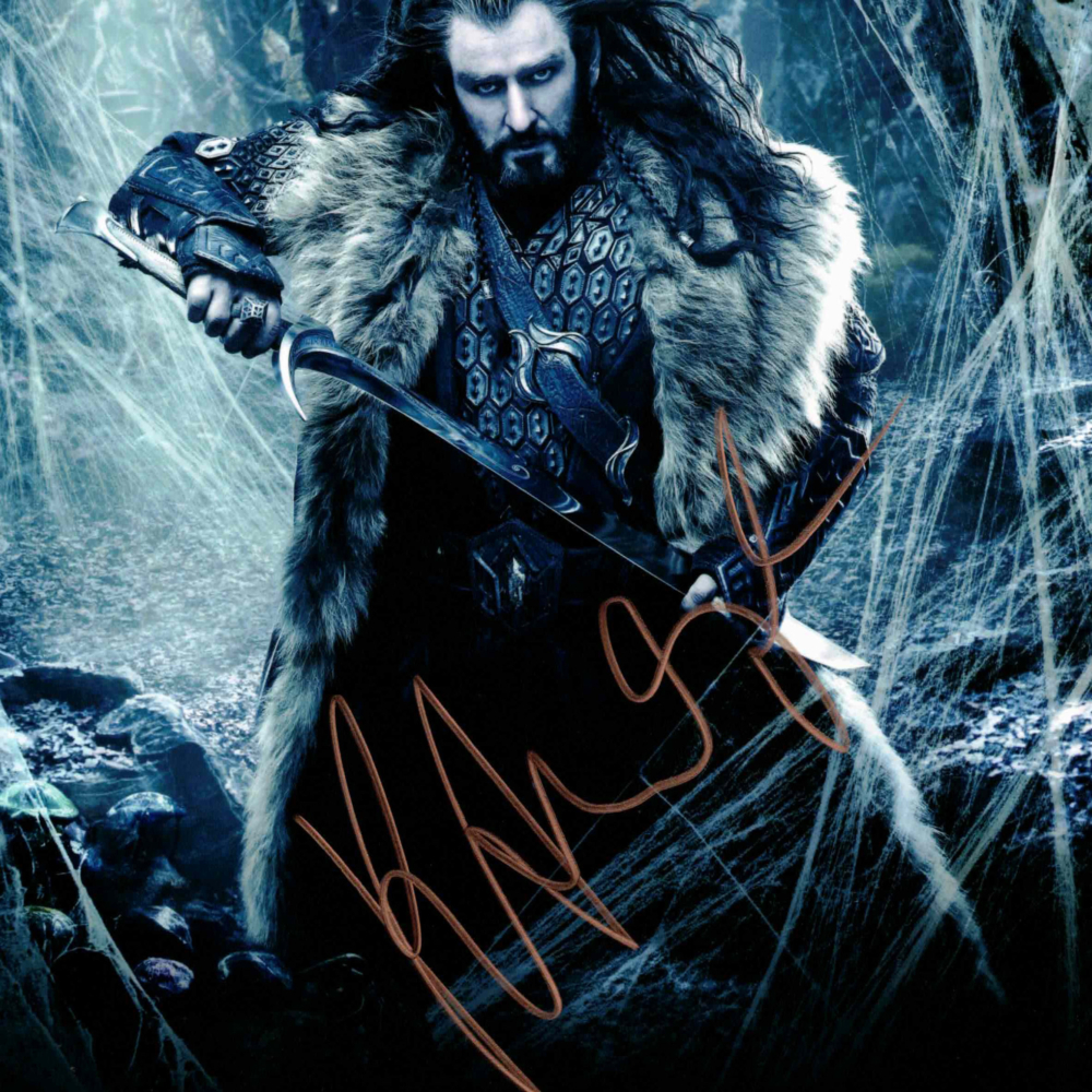 Richard Armitage / Hobit - autogram