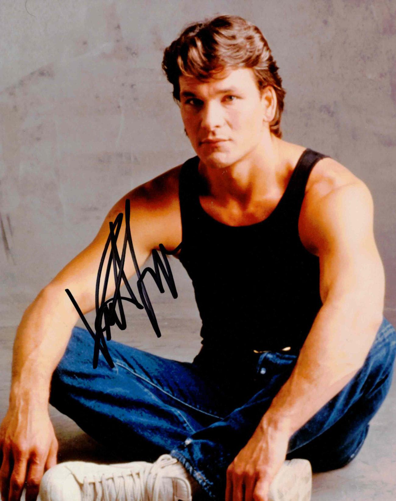 Patrick Swayze - autogram