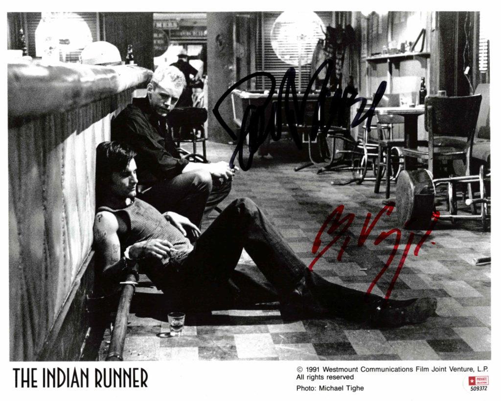 David Morse & Viggo Mortensen - autogram