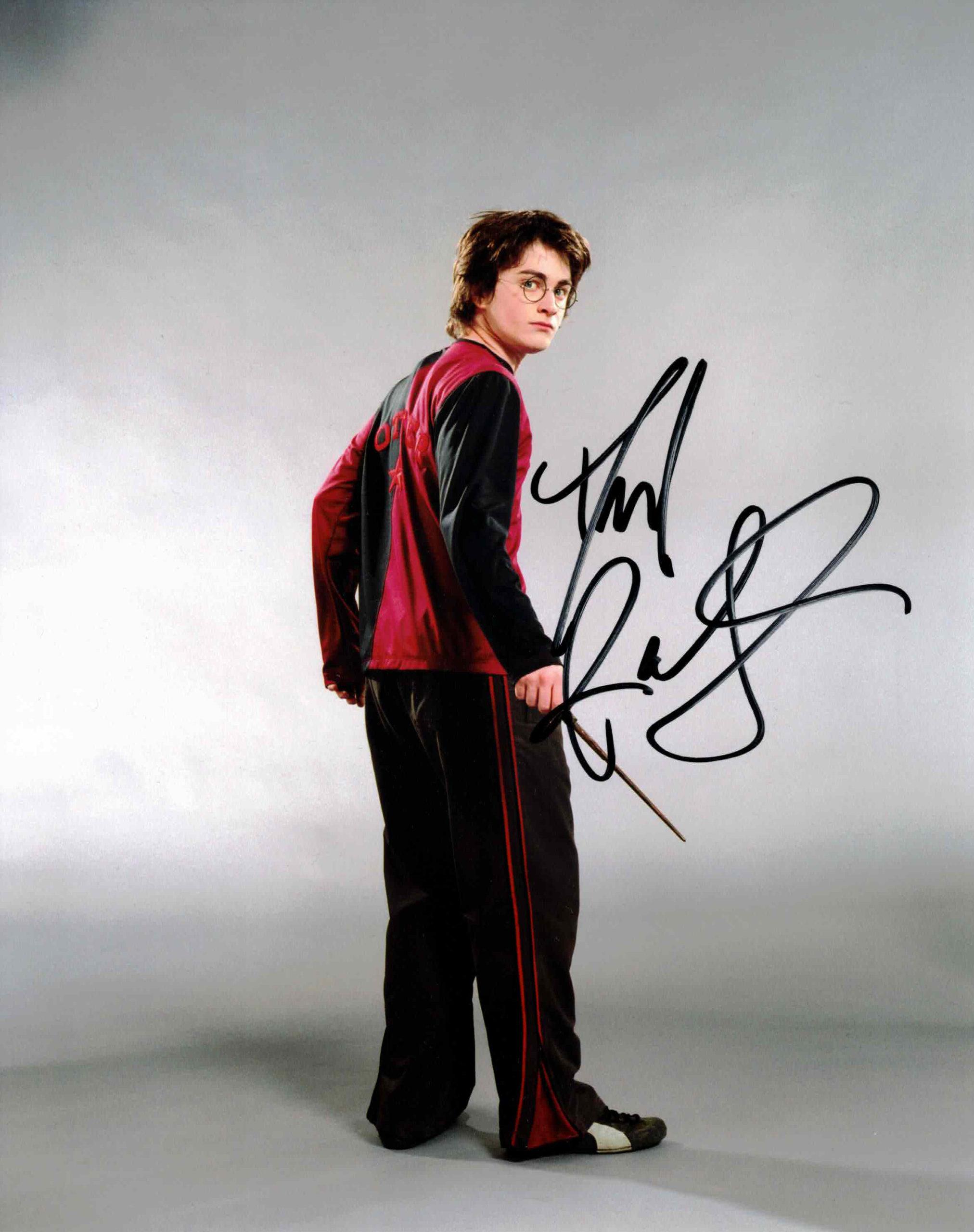 Daniel Radcliffe / Harry Potter - autogram