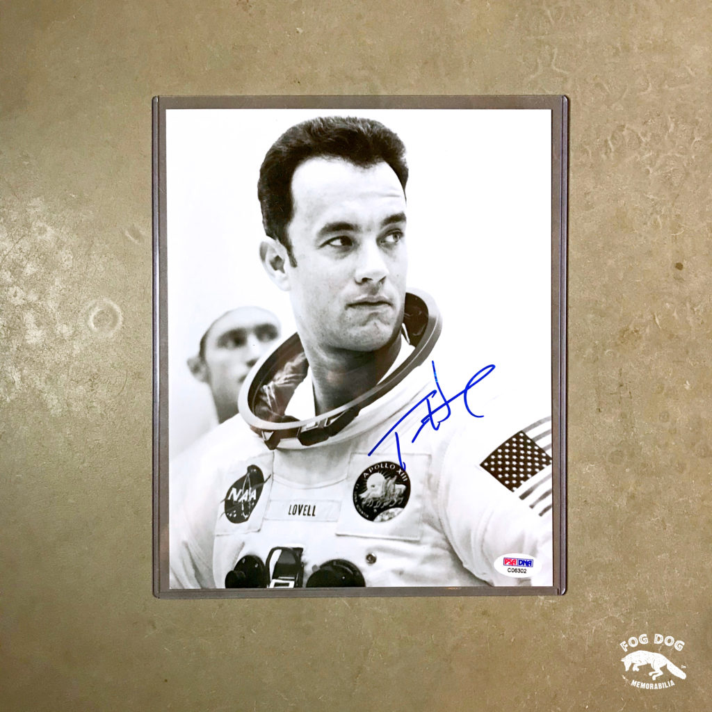 Autogram / Tom Hanks - role Jima Lovella ve filmu Apollo 13