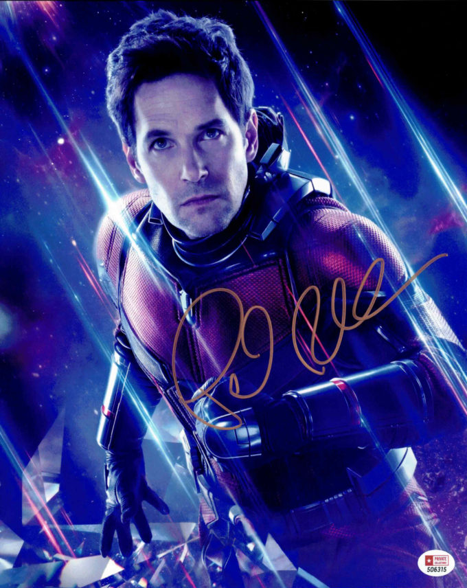 Paul Rudd / Ant-man, Avengers - autogram