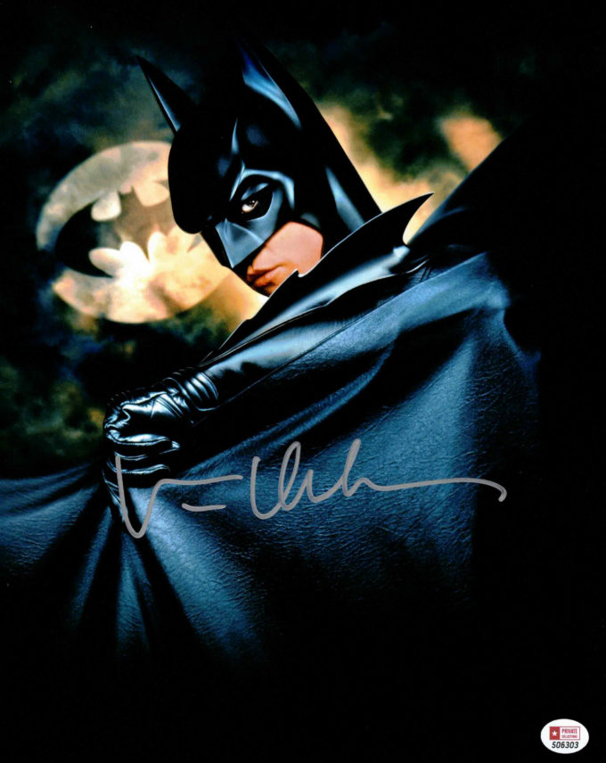 Val Kilmer / Batman - autogram