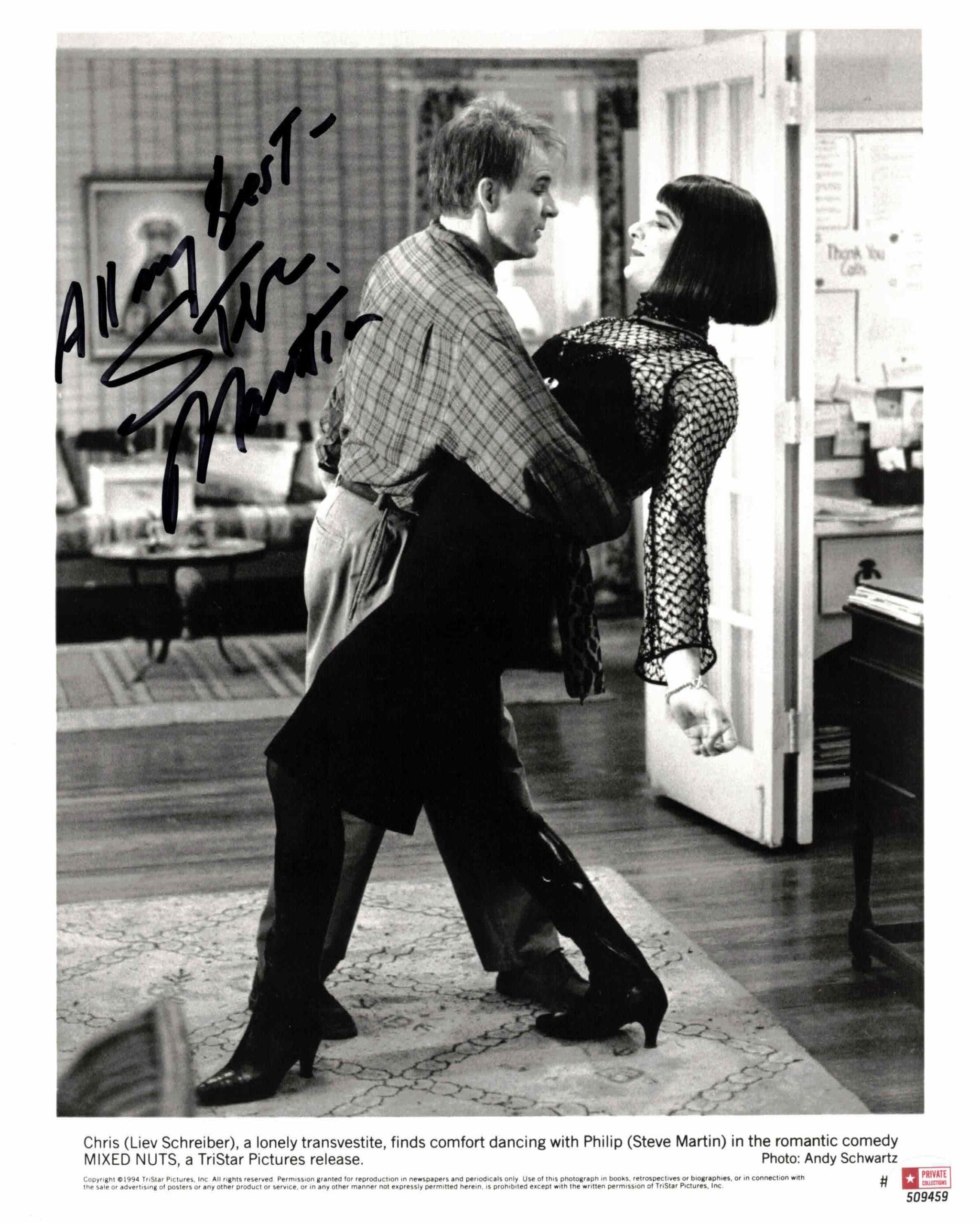 Steve Martin - autogram