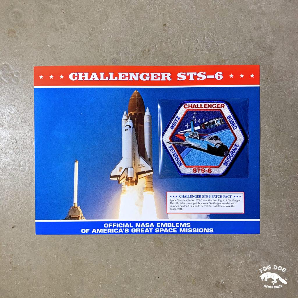 Oficiální textilní nášivka NASA - CHALLENGER STS-6