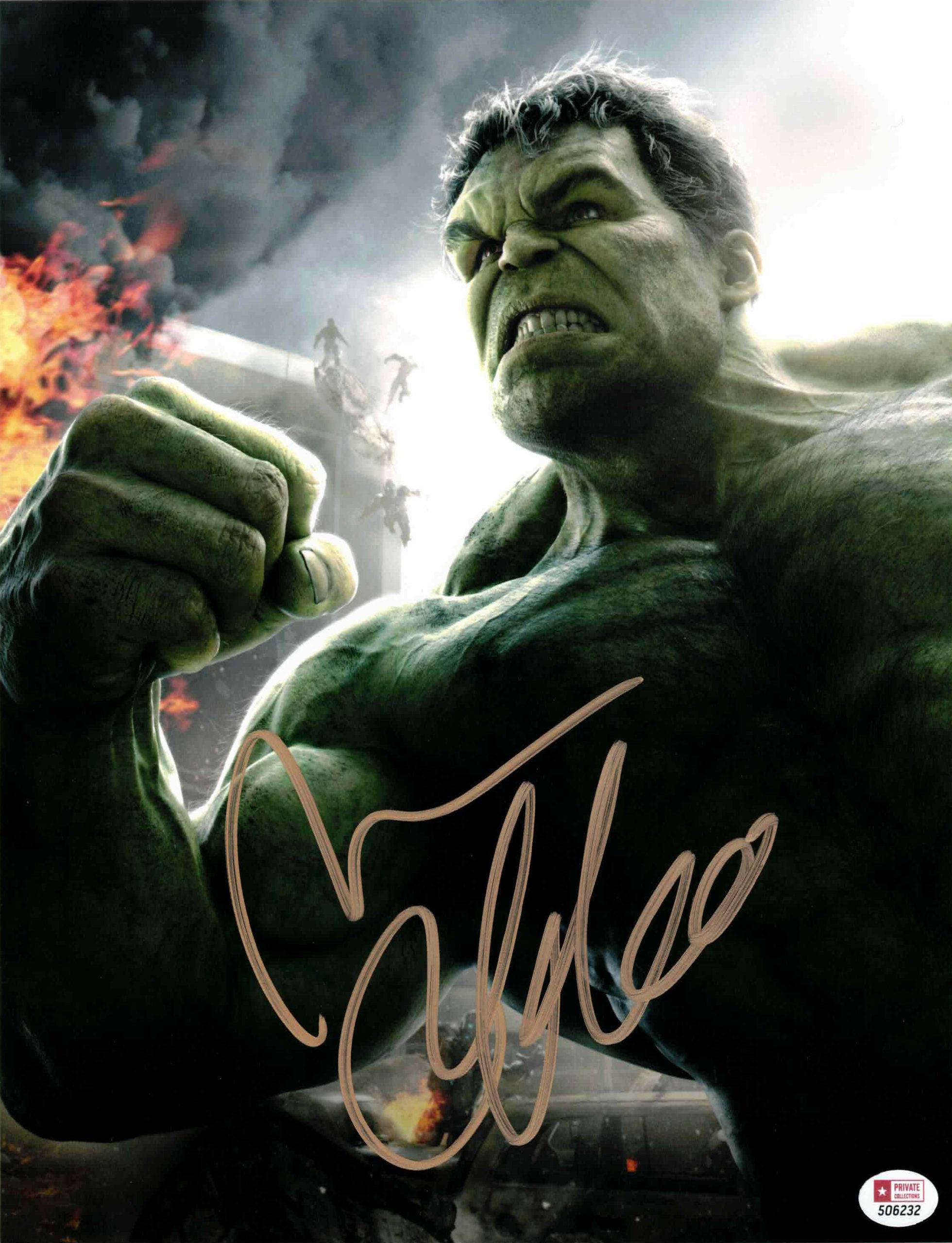 Mark Ruffalo / Avengers - autogram