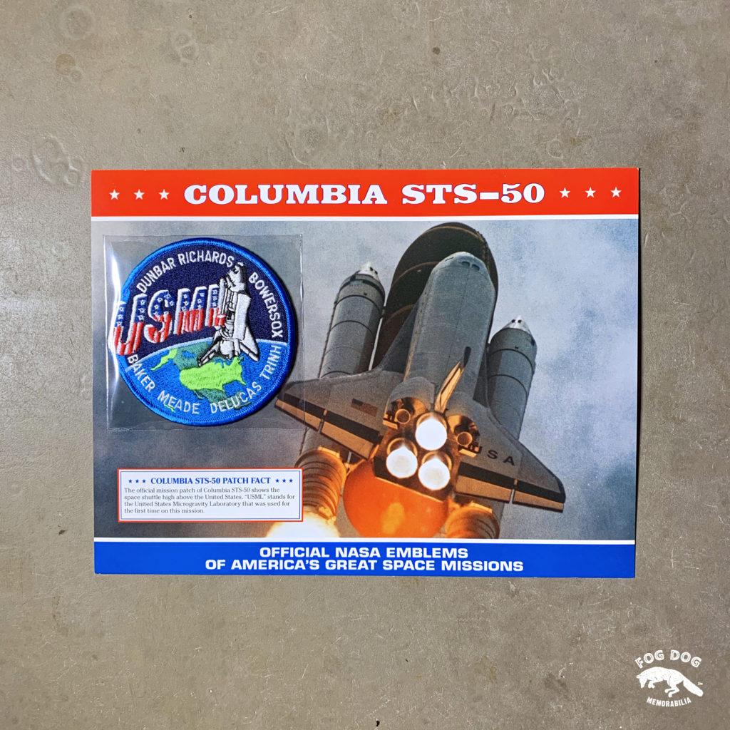 Oficiální textilní nášivka NASA - COLUMBIA STS-50