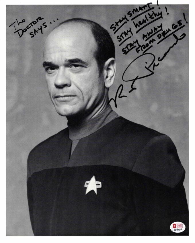 Robert Picardo / Star Trek - autogram