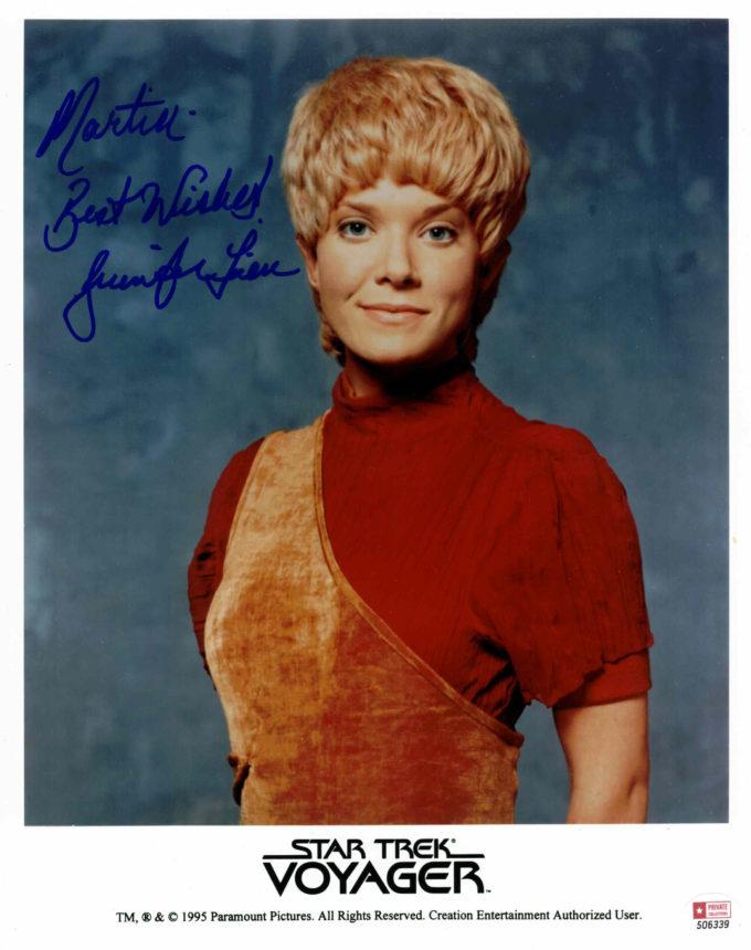 Jennifer Lien / Star Trek - autogram