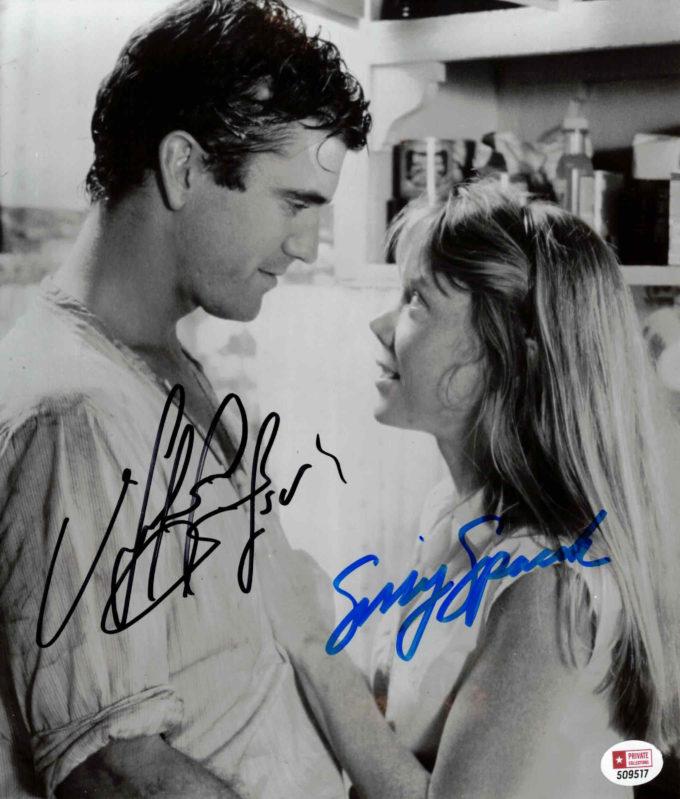 Mel Gibson & Sissy Spacek - autogram