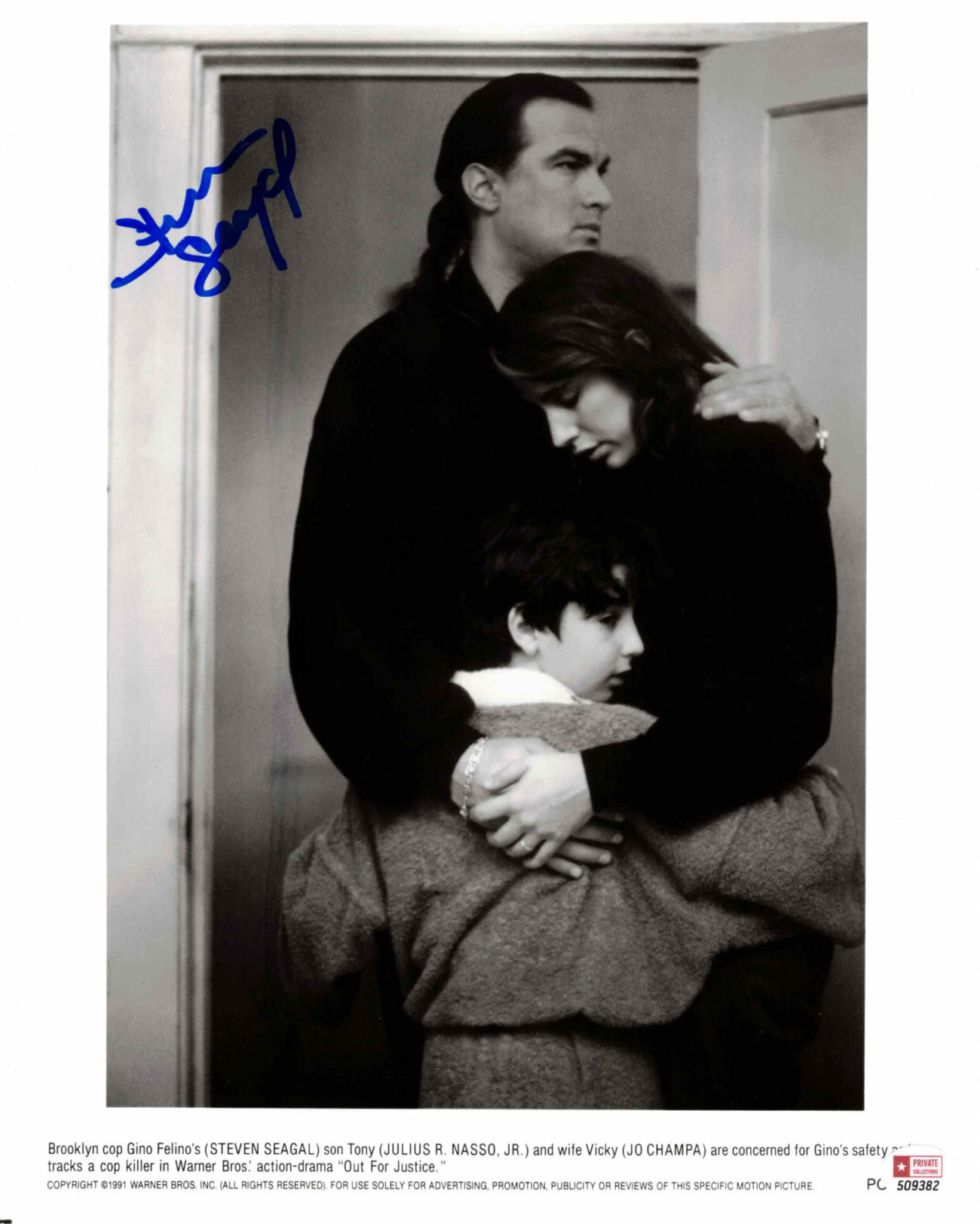 Steven Seagal - autogram