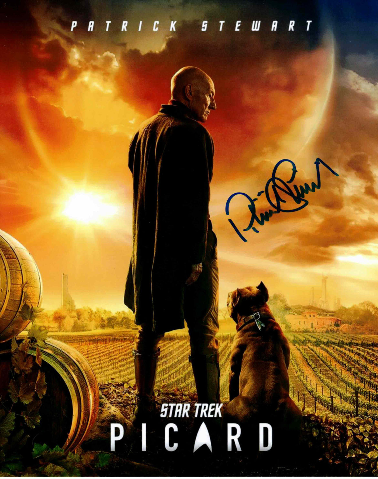 Patrick Stewart / Star Trek - autogram