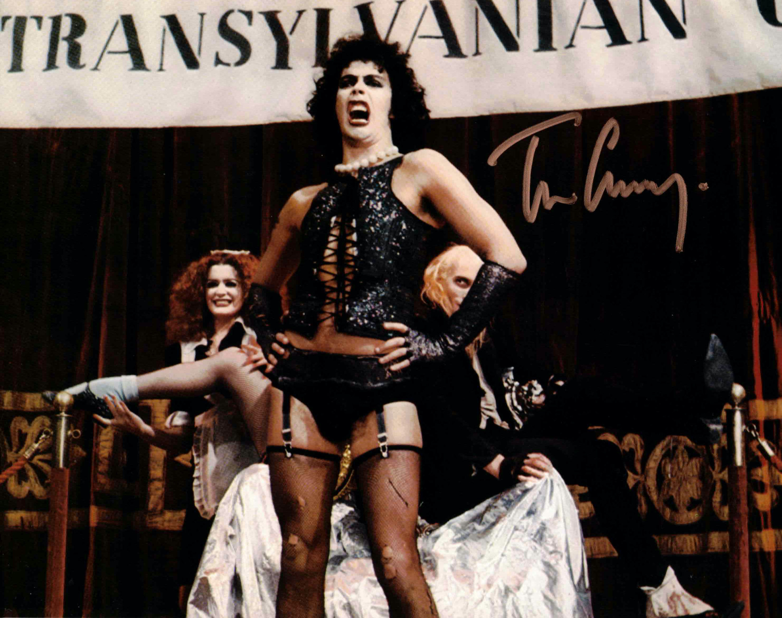 Tim Curry / Rocky Horror Picture Show - autogram
