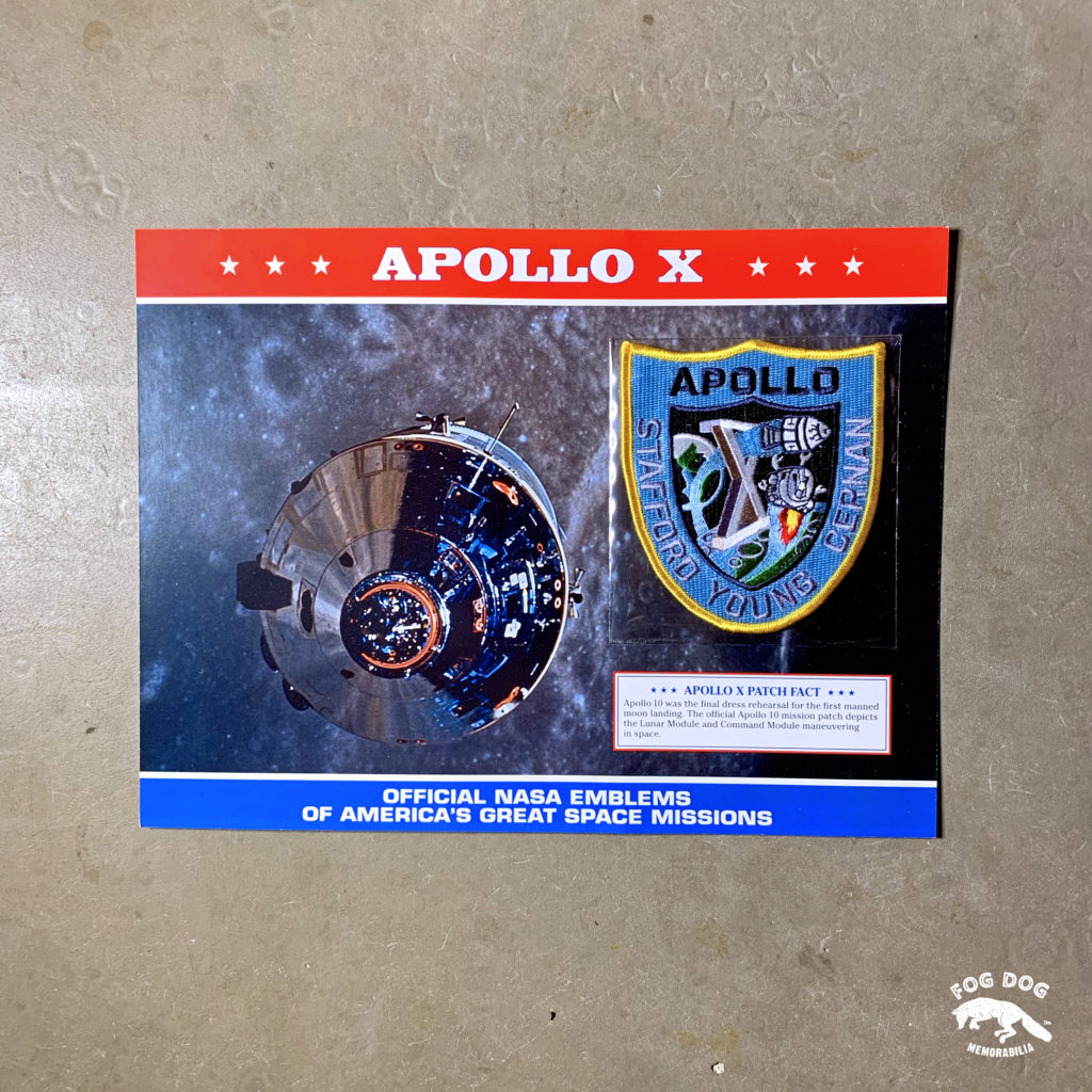 Oficiální textilní nášivka NASA - APOLLO X