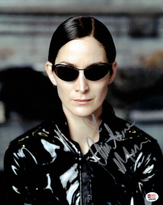 Carrie-Anne Moss / Matrix - autogram