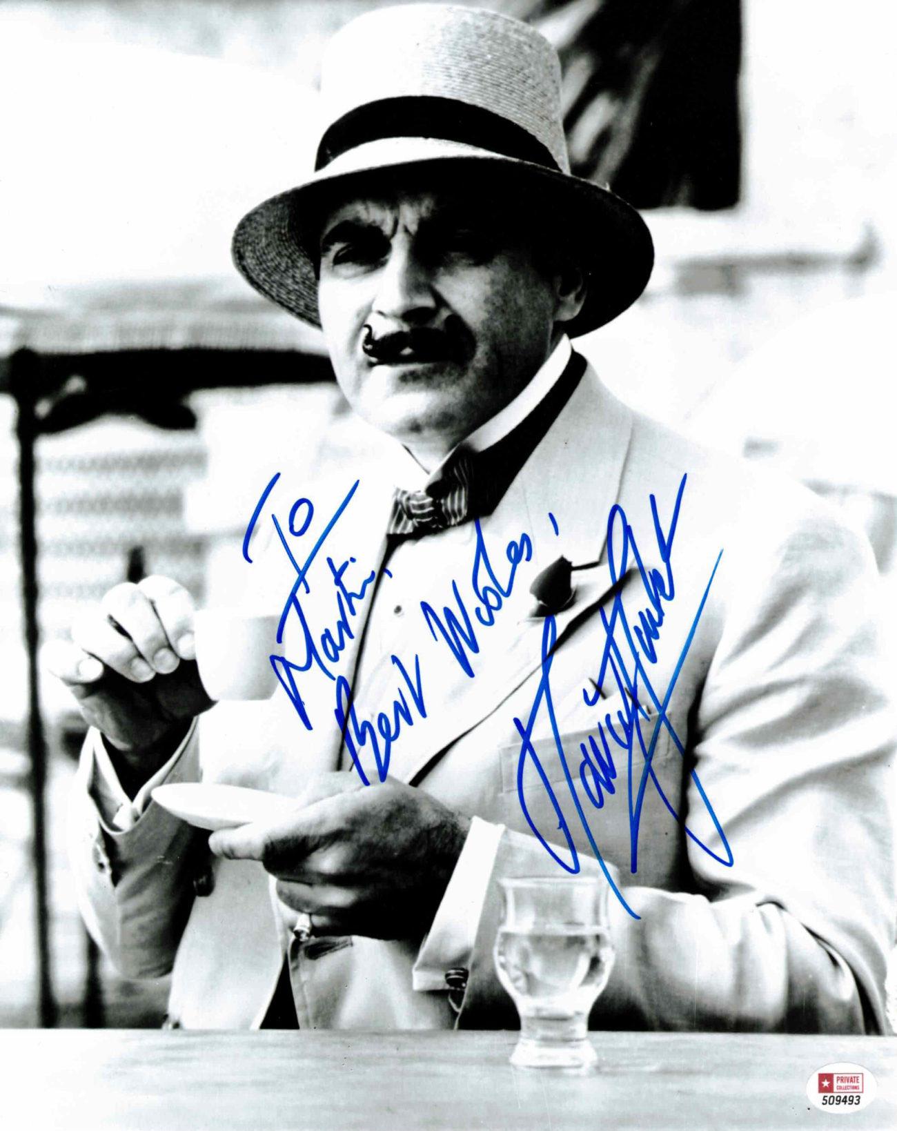 David Suchet / Hercule Poirot - autogram